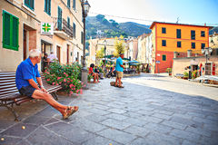 Rio nell Elba town Stock Photos