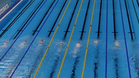 Rio 2016 - Olympic Aquatic Stadium Stock Image