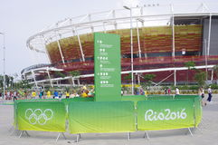 Rio2016 Olympic Tennis Center Royalty Free Stock Photography