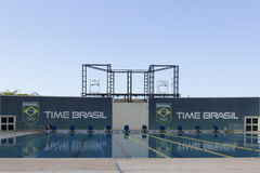 Rio 2016 Olympic venues: Maria Lenk Aquatic Center Stock Photography