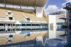 Rio 2016 Olympic venues: Maria Lenk Aquatic Center Stock Photos