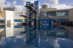 Rio 2016 Olympic venues: Maria Lenk Aquatic Center Stock Image