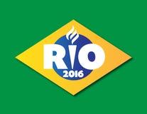 Rio Olympics Lizenzfreies Stockbild