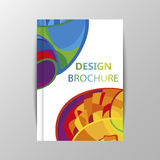 Rio 2016 Olympics brochures with abstract background. Royalty Free Stock Photo