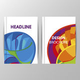 Rio 2016 Olympics brochures with abstract background. Stock Photography