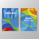 Rio 2016 Olympics brochures with abstract background. Royalty Free Stock Photography