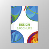 Rio 2016 Olympics brochures with abstract background. Stock Images