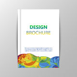 Rio 2016 Olympics brochures with abstract background. Royalty Free Stock Image
