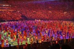 Rio 2016 Olympics Opening Ceremony at Maracana Stadium Royalty Free Stock Image