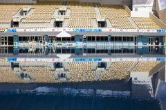 Rio 2016 olympische Orte: Maria Lenk Aquatic Center Stockfotos