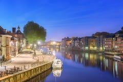 Rio Ouse, York, Inglaterra imagens de stock