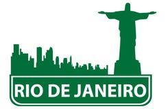 Rio outline Stock Photo