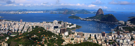 Rio panorama Royalty Free Stock Image