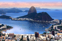 Rio panoramic view Royalty Free Stock Photos
