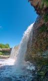 Rio pequeno do OM da cachoeira Imagem de Stock