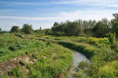 rio pequeno na região do labinsk Imagens de Stock