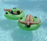 Rio preguiçoso no console Tampa Bay da aventura Fotos de Stock Royalty Free