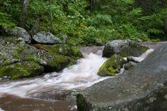 Rio Raging de Tye imagem de stock