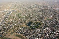 Rio Rancho, antenne du Nouveau Mexique Photographie stock libre de droits