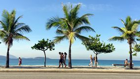 Rio Residents Ipanema Beachfront Street metrajes