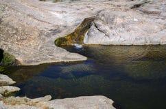 Rio rochoso Fotografia de Stock