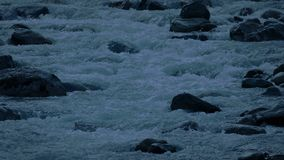 Rio Rocky Mountain Tarde No Dia video estoque