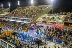 RIO`S CARNIVAL SAMBODROM BRAZIL 2018. Royalty Free Stock Photos