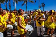 RIO ` S karnawał NA ULICZNYM BRAZYLIA 2018 fotografia stock