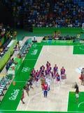 Rio 2016 - Samba School Presentation stock images