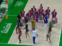 Rio 2016 - Samba School Presentation stock photos