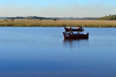 Rio Santa Lucía, Montevideo Stock Photo
