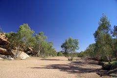 Rio seco de Todd Foto de Stock Royalty Free