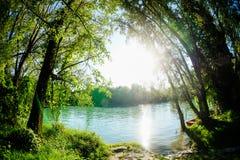 Rio selvagem de Brenta Imagens de Stock