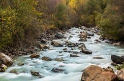 Rio selvagem Etsch Fotografia de Stock Royalty Free