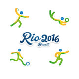 Rio 2016 Royalty Free Stock Images