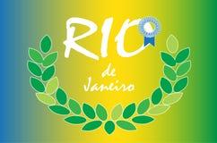 Rio-Spiele stock abbildung