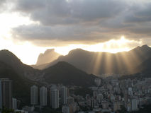 Rio Sun Diffused Light Arkivbilder