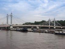 Rio Tamisa em Londres fotografia de stock