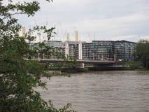 Rio Tamisa em Londres imagem de stock royalty free