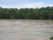 Rio Tamisa em Londres fotos de stock royalty free