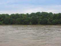 Rio Tamisa em Londres fotos de stock