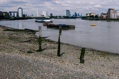 Rio Tamisa, Londres fotos de stock