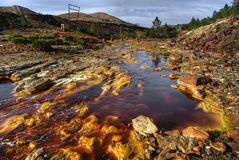 rio tinto Royaltyfria Bilder