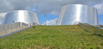Rio Tinto Alcan Planetarium Arkivbild