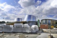 Rio Tinto Alcan Planetarium novo imagens de stock royalty free