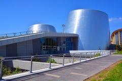 Rio Tinto Alcan Planetarium novo imagens de stock