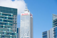 Rio Tinto Headquarter Perth Western Australia Royaltyfria Bilder