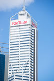 Rio Tinto Headquarter Perth Western Australia image libre de droits