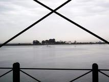 The Rio Tinto Iron Bridge in Huelva Stock Photo