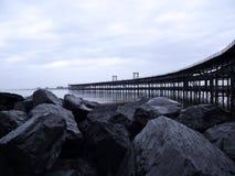 Rio Tinto Iron Bridge i Huelva Royaltyfria Bilder